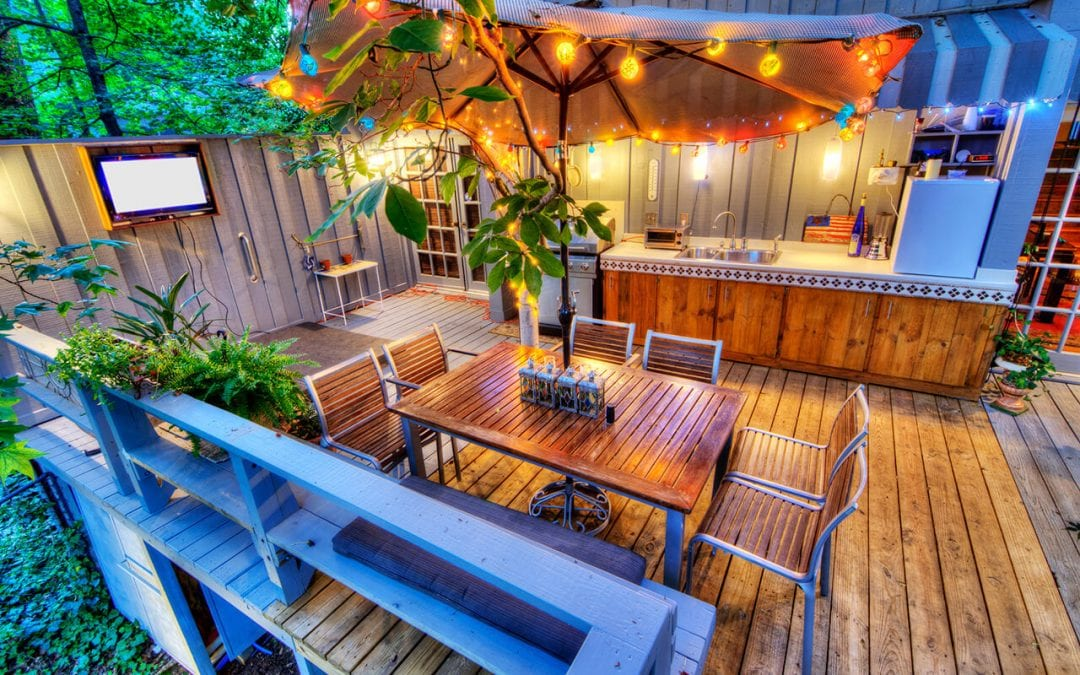 enjoy your outdoor living spaces by building a deck