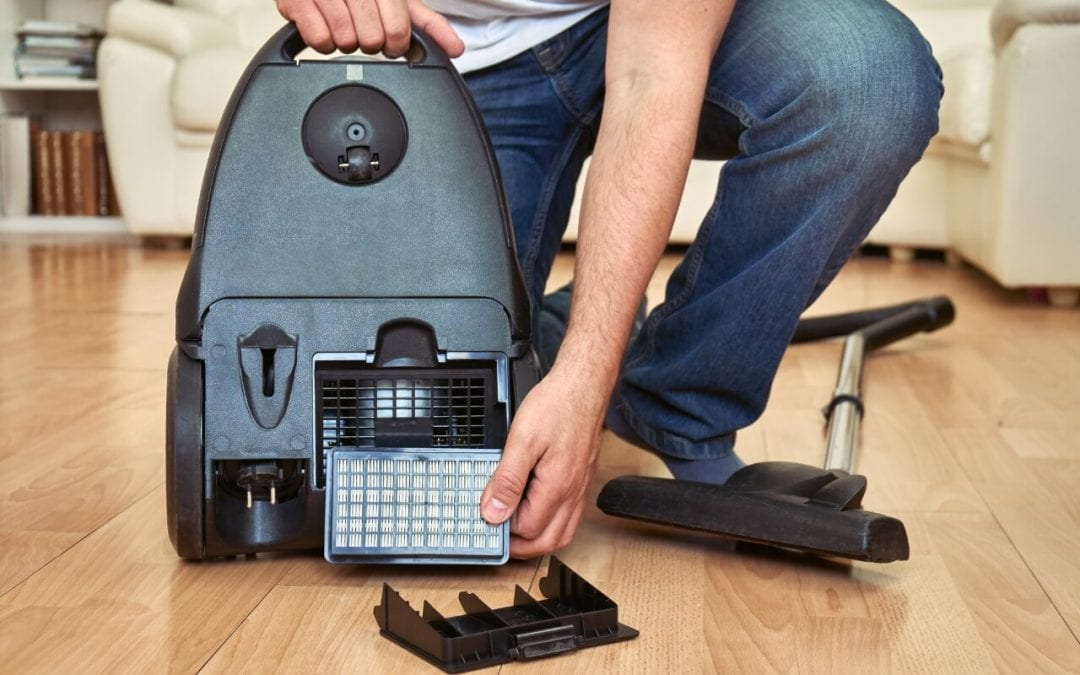 HEPA filters in the home are sometimes found in vacuum cleaners